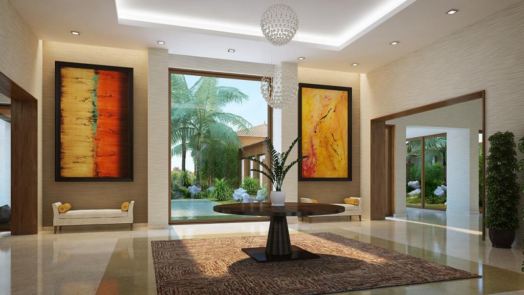 Entrance Lobby 1 - Bruno Lopes | 3D Artist