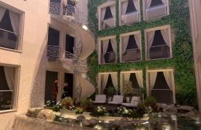 hotel interior garden
