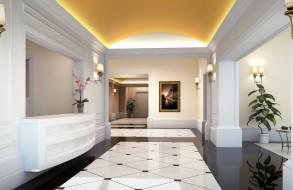 residencial building lobby
