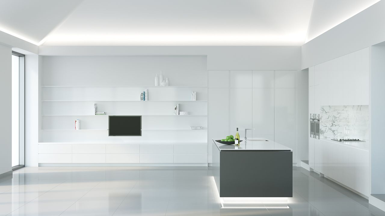 Portfolio bruno lopes 3d artist - Minimal kitchen design ...